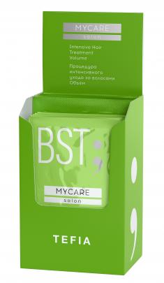 TEFIA Процедура интенсивного ухода за волосами Объем (концентрат 5 x 10 мл + бустер 5 x 20 мл) Mycare SALON