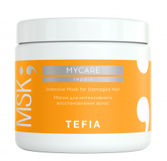 TEFIA Маска для интенсивного восстановления волос / Mycare REPAIR 500 мл