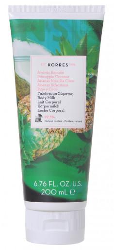 KORRES Молочко для тела, ананас и кокос 200 мл
