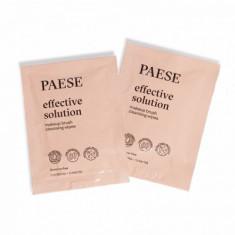Набор салфеток для очищения кистей PAESE effective solution brush cleanser wipes 15шт