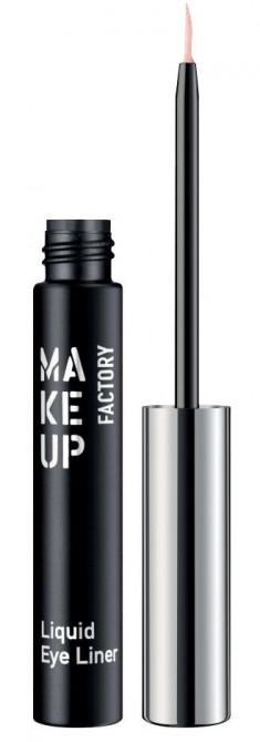 MAKE UP FACTORY Подводка жидкая для глаз, 50 гламурный жемчужный / Liquid Eye Liner