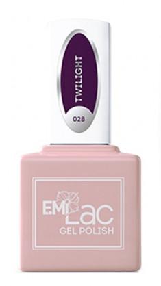 E.MI 028 гель-лак для ногтей, Сумерки / E.MiLac 6 мл
