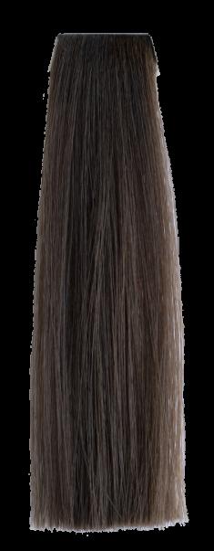 OLLIN PROFESSIONAL 7/17 крем-краска перманентная для волос, русый пепельно-коричневый / N-JOY 100 мл