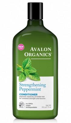 Avalon Organics Укрепляющий Кондиционер с маслом мяты Peppermint Strengthening Conditioner 312г