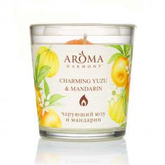 Aroma Harmony Свеча ароматическая Юзу и Mандарин 160гр
