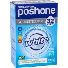 Posh One Стиральный порошок для белого белья 1кг