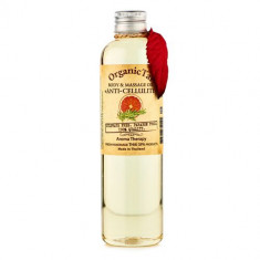 OrganicTai Масло для тела и аромамассажа Антицеллюлитное 260мл