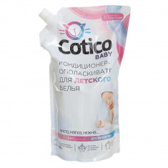 Cotico Кондиционер-ополаскиватель для детского белья Дой-Пак 1л