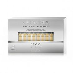 Лабо Кресцина 1700 для мужчин лосьон против выпадения волос Усиленная формула флаконы по 3,5мл №10+10 Crescina