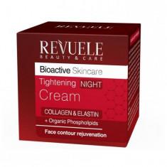 Revuele Bioactive skincare Collagen&Elastin Крем для лица ночной подтягивающий 50мл