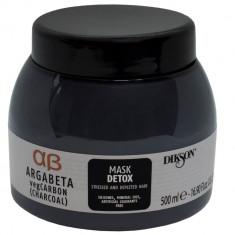 Dikson Mask Detox Маска с растительным углем маслами лаванды и иланг-иланга для волос подверженных стрессу 500мл