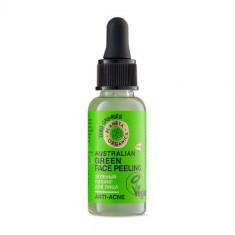 Планета органика Skin Super Food Пилинг для лица Зеленый 30мл Planeta Organica