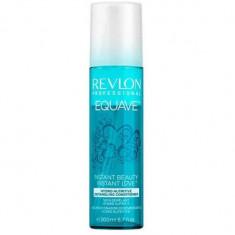 Revlon Equave Instant Beauty Несмываемый 2-х фазный увлажняющий и питательный кондиционер Hydra Nutritive Detangling Condition 200мл