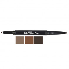 MAYBELLINE Карандаш для бровей Brow Satin 01 темный блонд