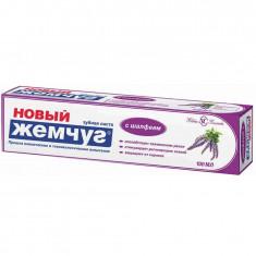 Новый жемчуг Зубная паста с Шалфеем 100мл НОВЫЙ ЖЕМЧУГ