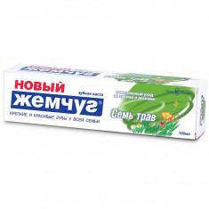 Новый жемчуг Зубная паста 7 Трав 100мл НОВЫЙ ЖЕМЧУГ