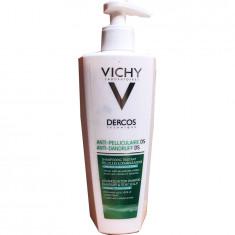 Виши Деркос шампунь-уход интенсивный против перхоти для нормальных и жирных волос 390мл VICHY