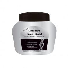 Compliment Бальзам Кератиновое восстановленние для окрашенных волос 500мл