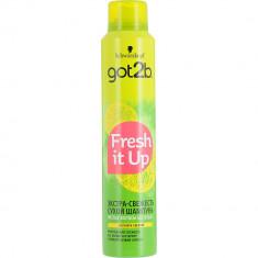 Got2b Fresh it Up Парфюмированный сухой шампунь Экстра-свежесть 100мл