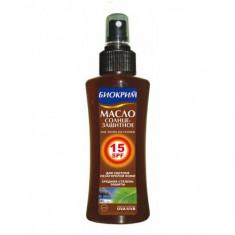 Биокрим масло солнцезащитное SPF15 200 мл