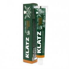 Klatz BRUTAL ONLY Зубная паста для мужчин  Убойный виски 75мл
