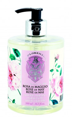 LA FLORENTINA Мыло натуральное жидкое, майская роза / Rose of May 500 мл
