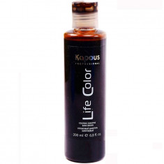 Kapous Life Color Шампунь оттеночный для волос Коричневый 200 мл