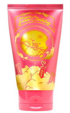 ELIZAVECCA Пенка для умывания / Clean Piggy Pinkenergy Foam Cleansing 120 мл
