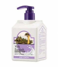 Лосьон для тела с ароматом детской присыпки Milk Baobab Perfume Body Lotion Baby Powder 250 мл