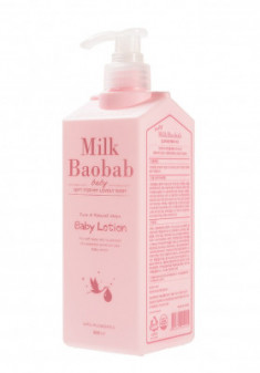 Детский лосьон для тела Milk Baobab Baby Moisture Lotion 500мл