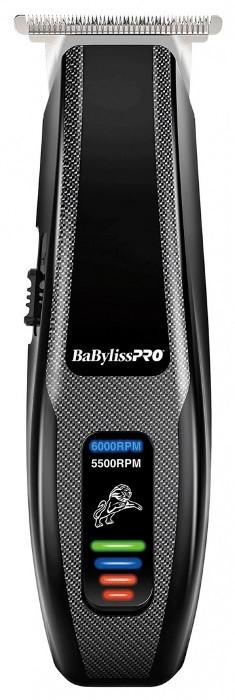 BABYLISS PRO Машинка для стрижки окантовочная Babyliss Pro, аккум-сетевая, 0,5 мм, 4 насадки