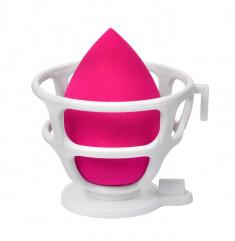 LIMONI Спонж для макияжа в наборе с корзинкой / Blender Makeup Sponge Red