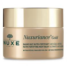 Nuxe Nuxuriance Gold Питательный укрепляющий антивозрастной ночной бальзам для лица 50 мл