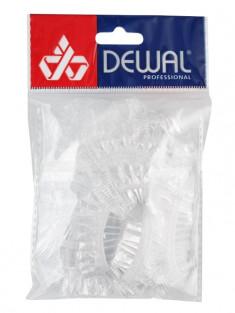DEWAL PROFESSIONAL Наушники одноразовые для окрашивания, полиэтиленовые 100 шт