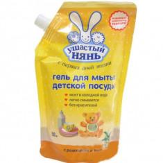 Ушастый нянь Гель для мытья детской посуды 500мл дой-пак УШАСТЫЙ НЯНЬ