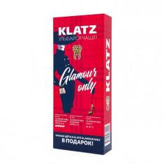 Klatz GLAMOUR ONLY Набор Зубная паста Земляничный смузи 75мл+Молочный шейк 75мл+Зубная щетка средняя