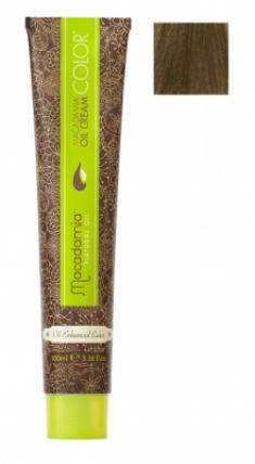 Краска для волос Macadamia Oil Cream Color 7/2 СРЕДНИЙ ЗЕЛЕНО МАТОВЫЙ БЛОНДИН 100мл