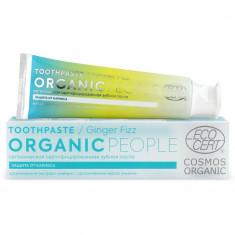 Organic people Зубная паста ginger fizz органическая сертифицированная 85г