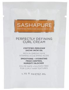 SASHAPURE Крем для кудрявых, непослушных, пушистых волос с маслом Сача Инчи / Defining Curl Cream 52 мл