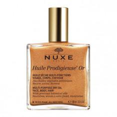 NUXE Масло сухое мерцающее для лица, тела и волос / HUILE PRODIGIEUSE OR 100 мл