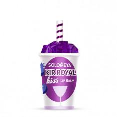SOLOMEYA Бальзам для губ Кир рояль / Lip Balm Kir Royal Kiss 7 г