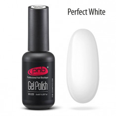 PNB Гель-лак для ногтей / Gel Polish PNB Perfect UV/LED, white 8 мл