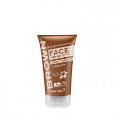 TANNYMAXX Крем-ускоритель загара для лица с мягким бронзатором / BROWN Face Tanning + Smooth Bronzer 50 мл