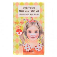 The Saem, Пластыри для угрей Secret Pure Nose Clear, 8 шт.