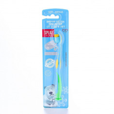 Splat Kids детская зубная щетка 2-8лет Soft морская волна