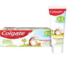 Colgate Зубная паста детская 0-2 без фторида нежные фрукты туба 40мл