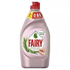 Fairy Нежные руки Розовый жасмин и Алоэ Вера средство для мытья посуды 450мл