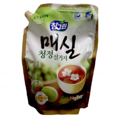 Lion Chamgreen средство для мытья посуды Японский абрикос мягкая упаковка 960мл