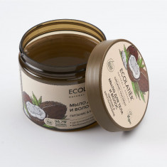 Ecolatier Мыло для тела и волос Питание и Восстановление Кокос 350мл