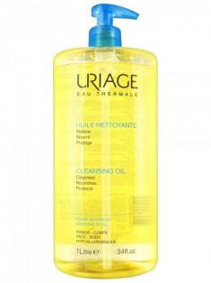 Uriage Cleansing oil Очищающее пенящееся масло флакон-помпа 1000мл